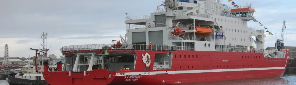 STX Finland delivers a polar research vessel to South Africa