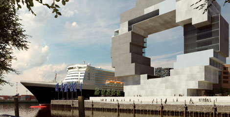 Hamburg: Focus on the  international maritime center