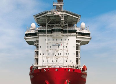 The new behemoth of Subsea 7 reaches the Netherlands