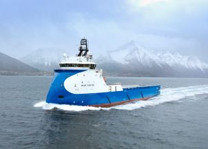 Ulstein launches new X-BOW Blue Ship